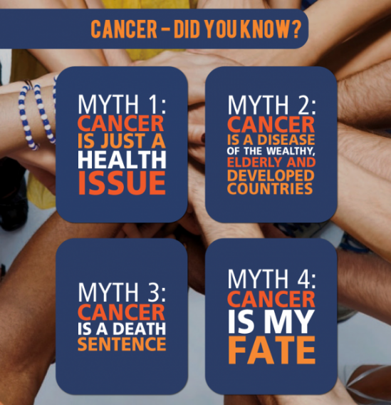 world cancer day myths