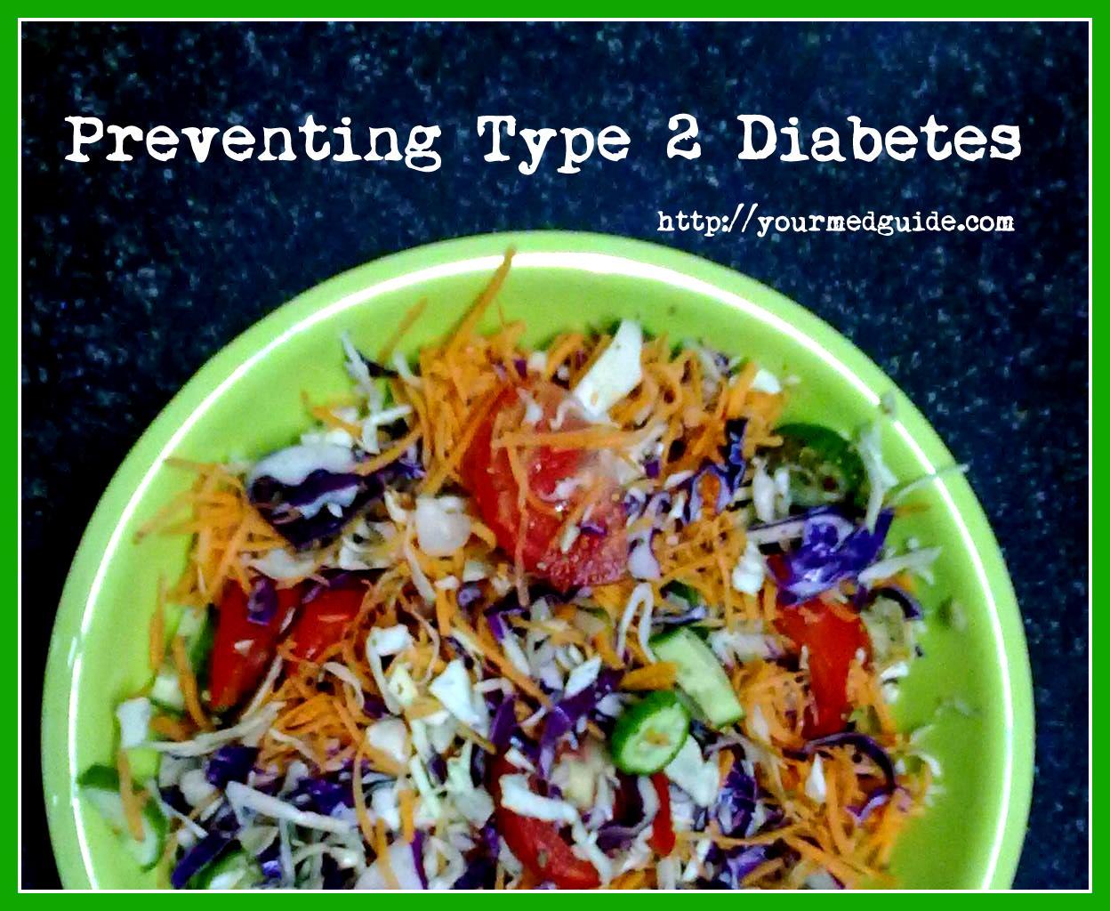 Preventing Type 2 diabetes