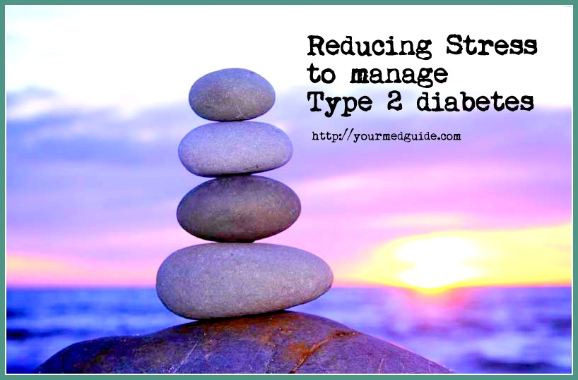 reducing stress to manage diabetes