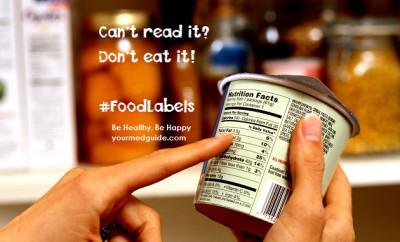 food labels vidya sury