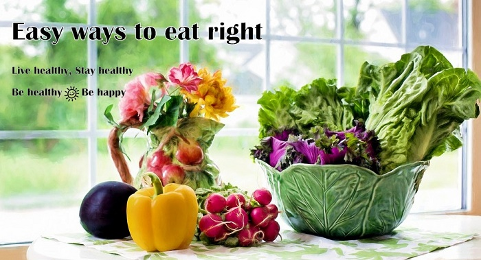 Easy ways to eat right Vidya Sury