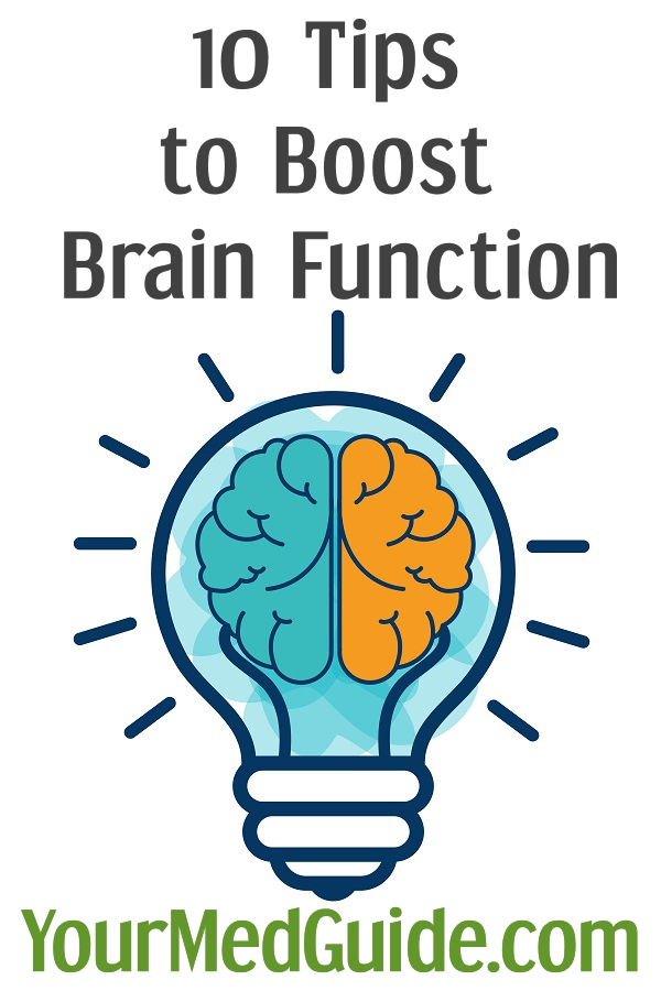 10 Tips to Boost Brain Function