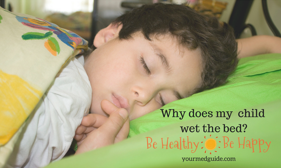 Why does my child wet the bed? Vidya Sury