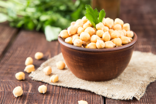 Chickpeas - ten protein packed vegan weight loss foods