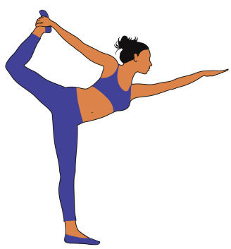 Dancer Pose. 7 best yoga poses to strengthen your core