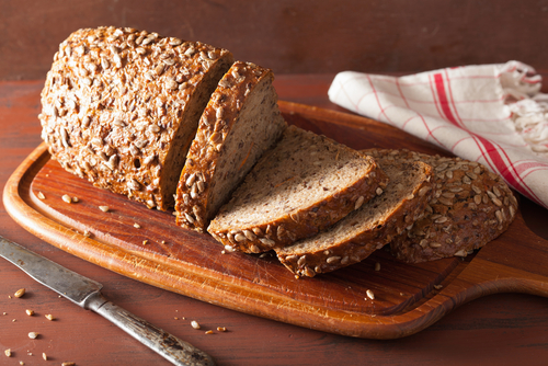 whole grain bread - ten protein packed vegan weight loss foods