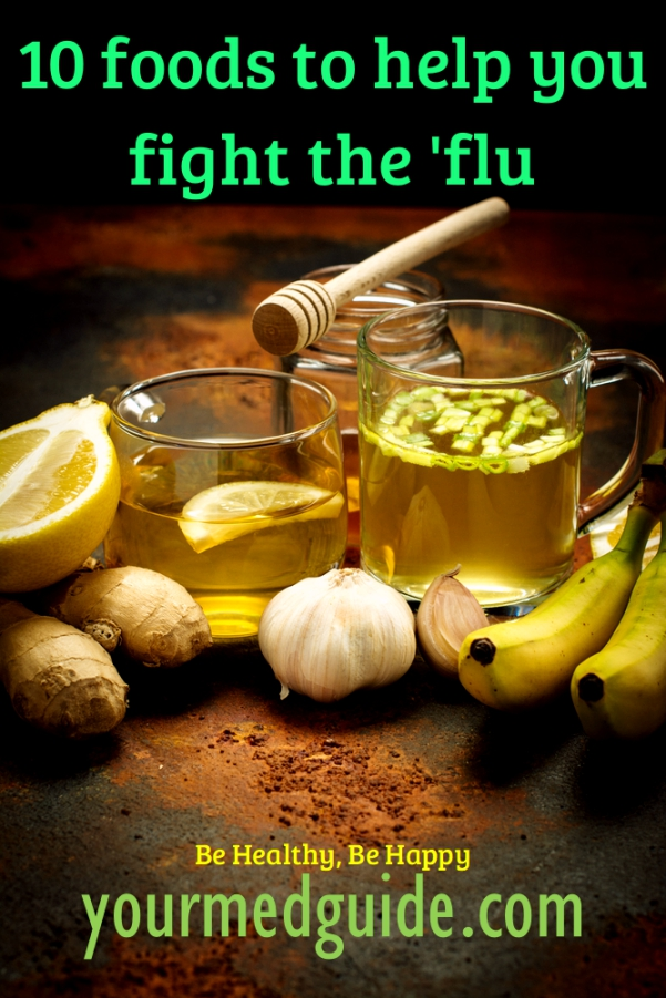 10 foods to help you fight flu #health #homeremedies