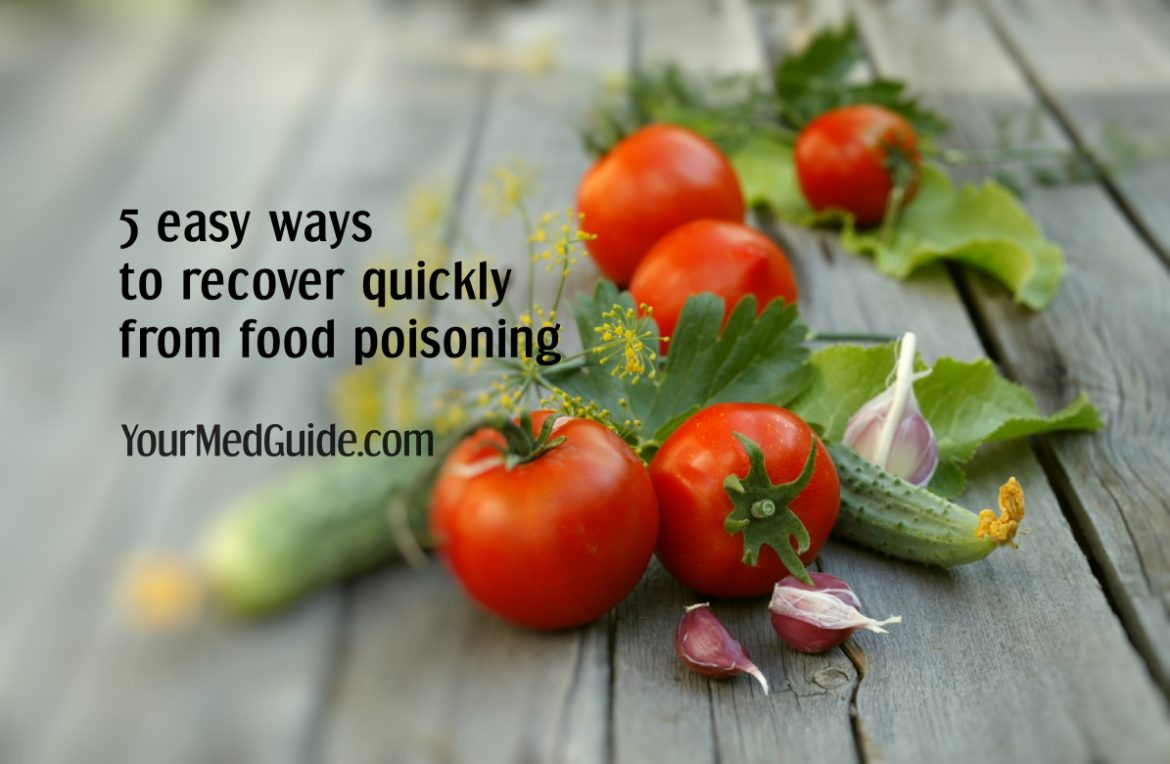 5 easy ways to recover quickly from food poisoning today