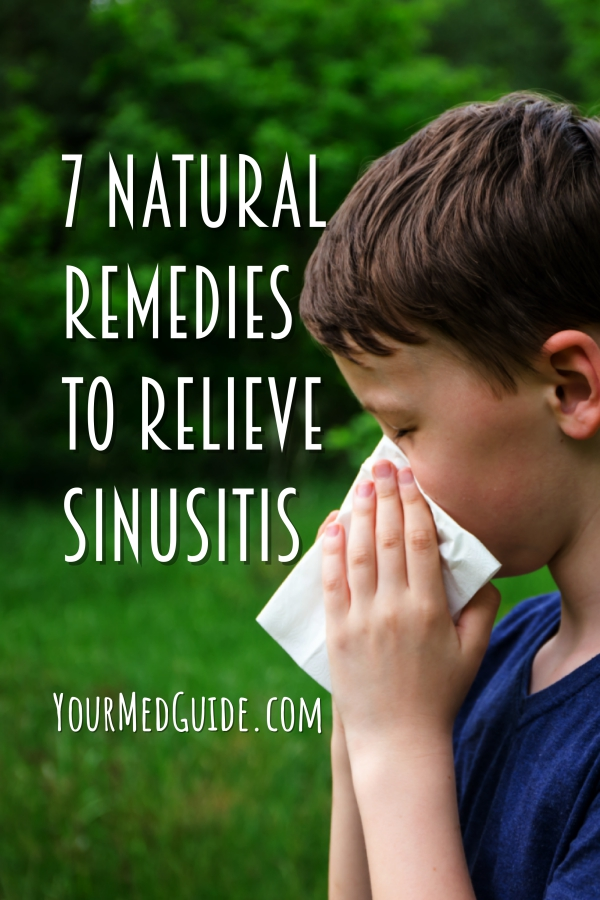 7 Natural remedies to relieve sinusitis