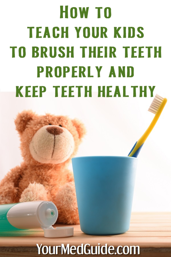 How to teach your kids to keep teeth healthy brush teeth properly