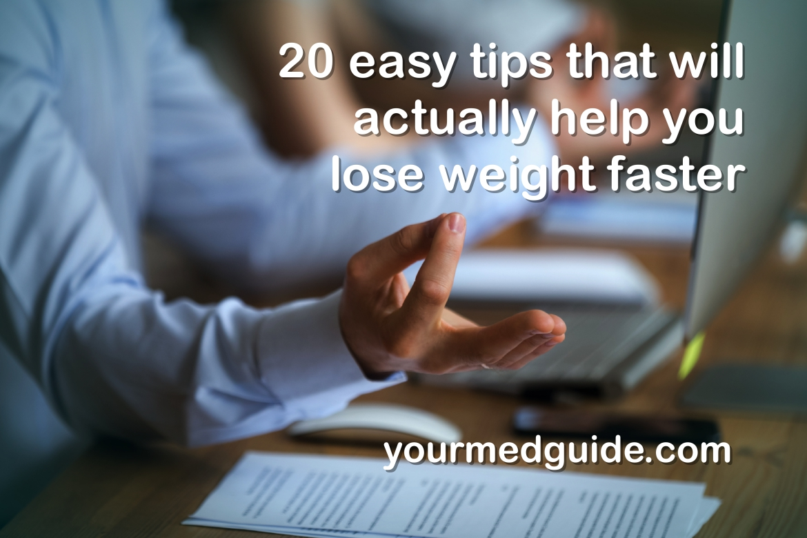 20 easy tips lose weight faster