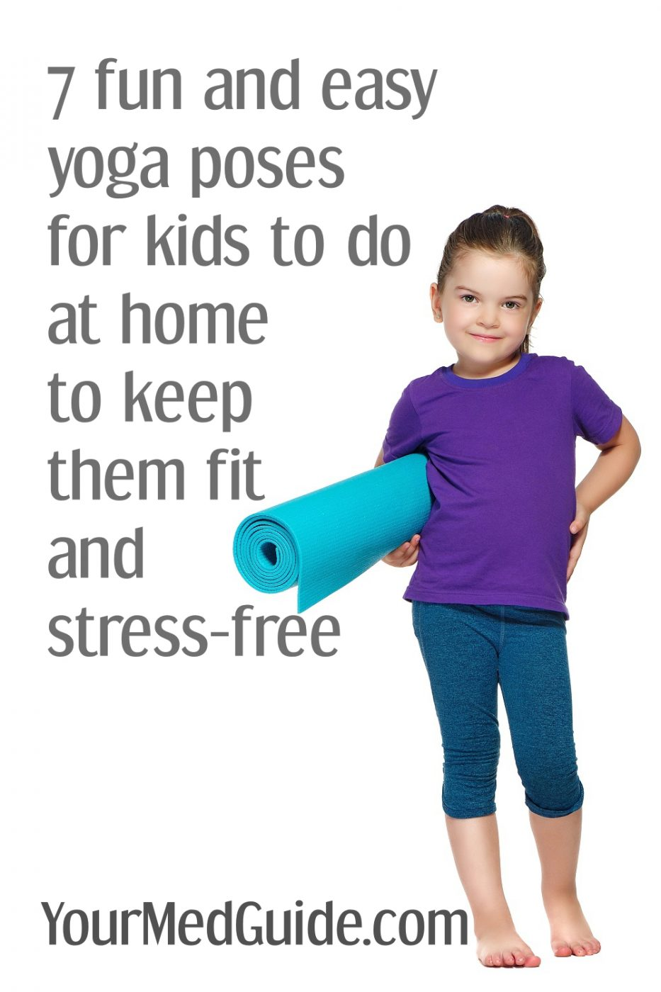 7 fun yoga poses for kids to do at home