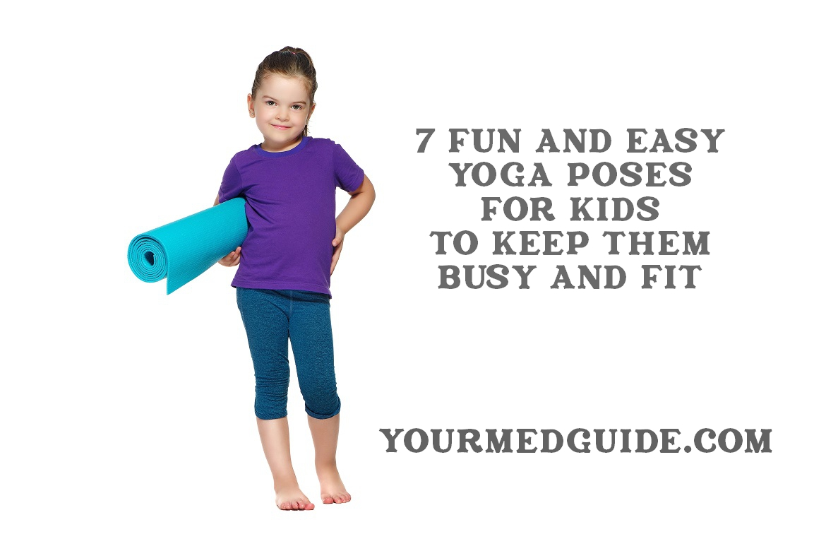 7 fun yoga poses for kids to keep them fit