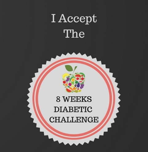 I accept the 8-week diabetes challenge