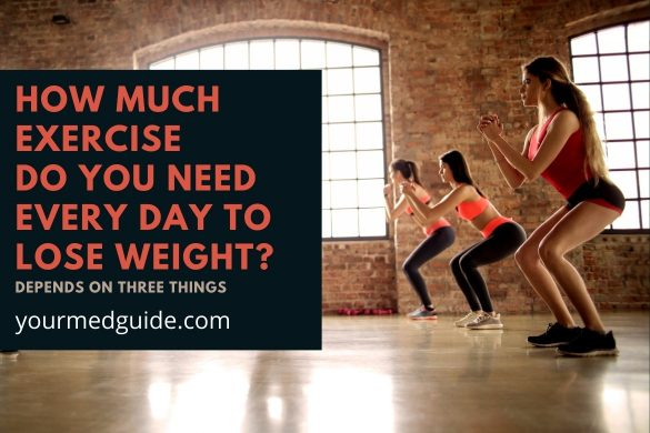 How much exercise do you need every day to lose weight