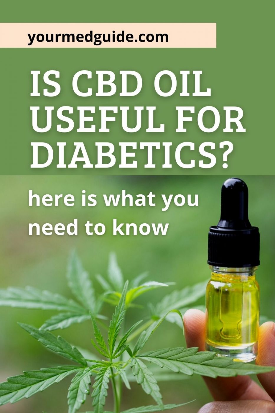CBD Oil and Diabetes - What you should know
