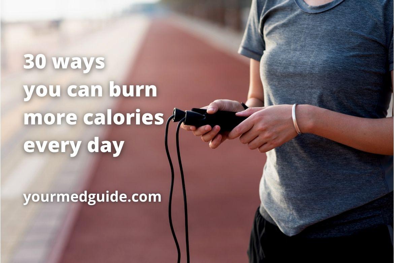 30 ways to burn more calories