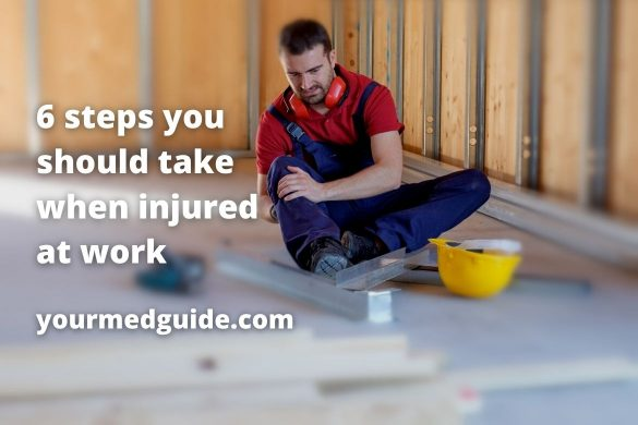 6 steps you should take when injured at work