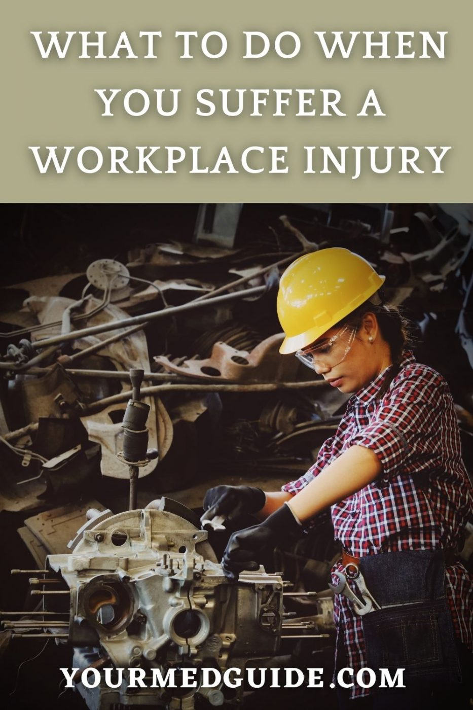 What to do when you are injured at work