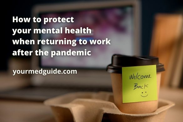 How to protect your mental health when returning to work